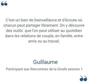 Témoignage Guillaume