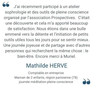 Témoignage Mathilde