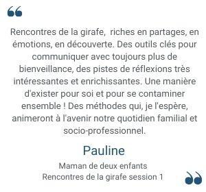 Témoignage Pauline